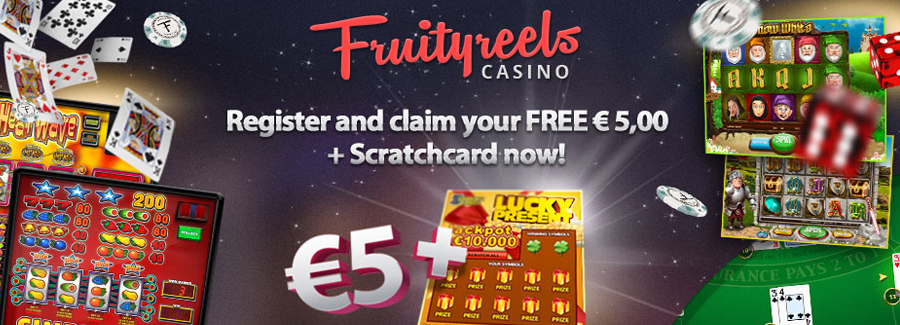 New playesr automatically get  a free bonus worth € 5 in your account.