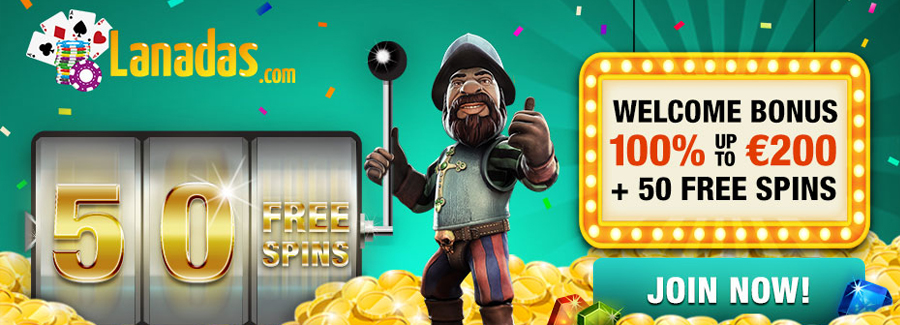 50 Free Spins directly after signup